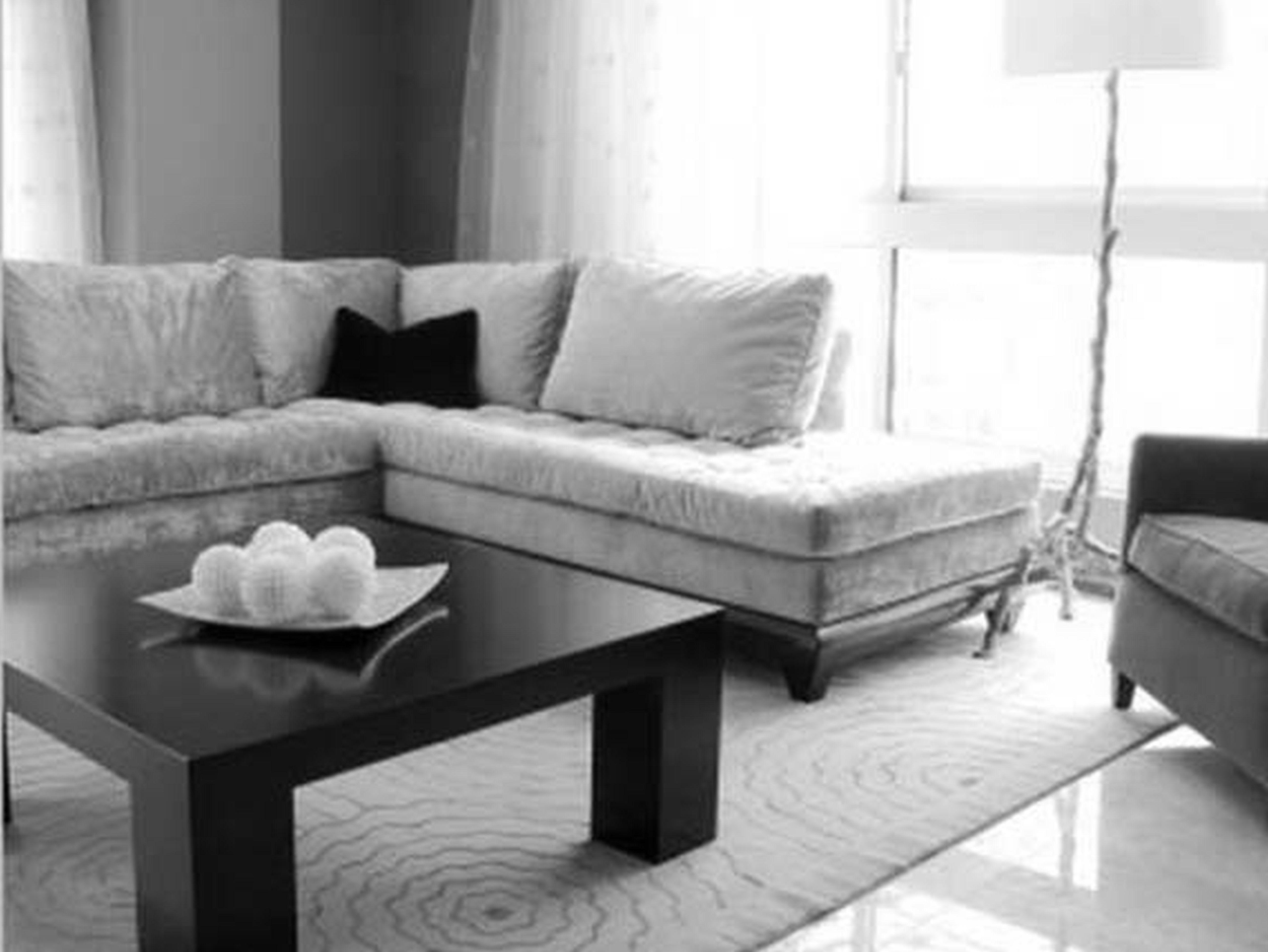 Best Endearing White Velvet L Shaped Sectional Sofas And Black 400 x 300