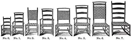 Shaker Chair Tape Weaving Instructions Including