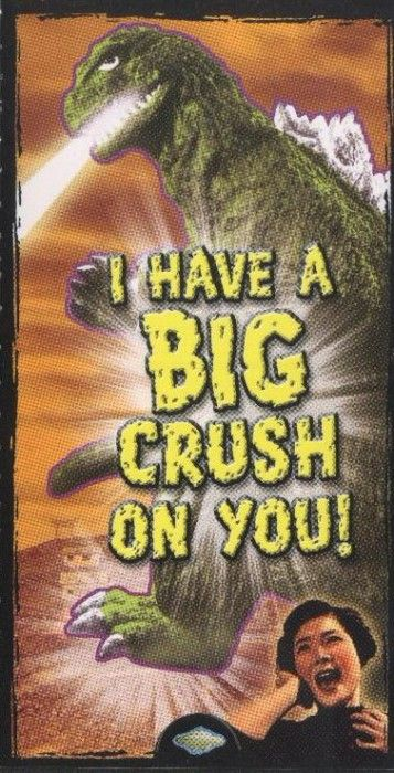 Gameraboy: Actual Godzilla Valentineu0027s Day... | Raiders Of The Lost Tumblr. My  Funny ...