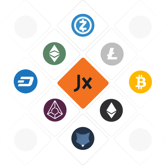 Jaxx has integrated Shapeshift so you can seamlessly trade between multiple cryptocurrencies all within the app.