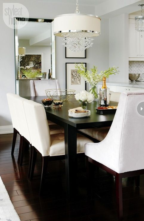 Chic Dining Room With Uttermost, Uttermost Dining Room Tables
