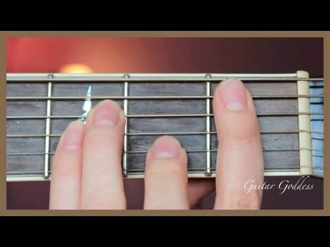♫ How to: Bb (B Flat) Chord on Guitar ♫ - YouTube | Guitar ...