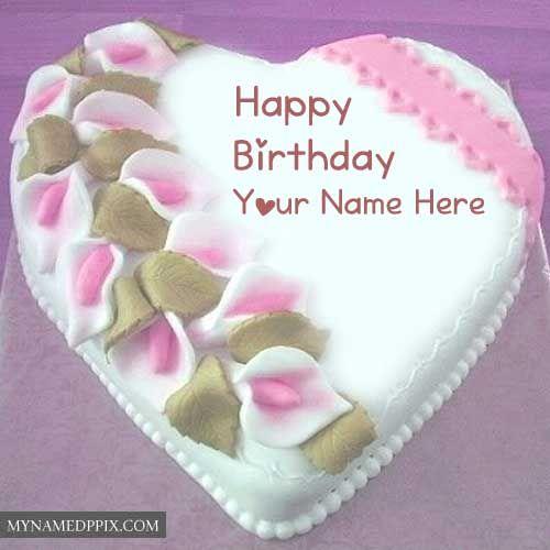Write Boyfriend Name Birthday Wishes Big Chocolate Cake