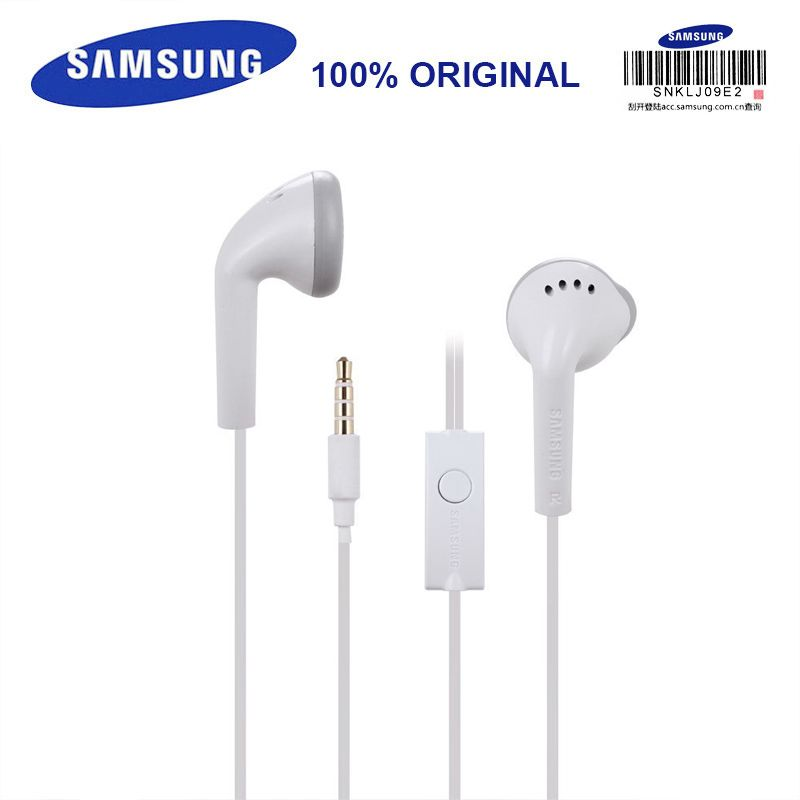 Us 3 73 Samsung Earphone Ehs61 Wired With Built In Microphone In Ear Headsets 3 5mm Support 35mm Builtin Samsung Earphones Earbud Headphones Earphone