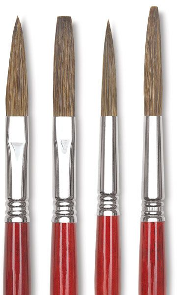 Escoda Light Ox Hair Lettering Brushes Hand Painted Signs