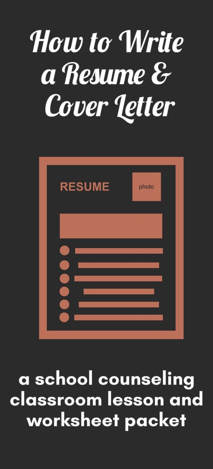 how to write a resume  u0026 cover letter  classroom lesson