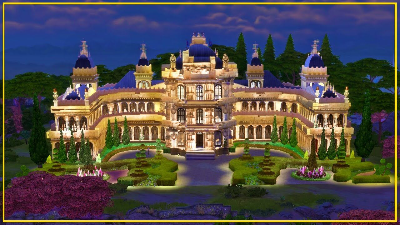The Sims 4 Build L Cinderella S Castle Movie Sims 4