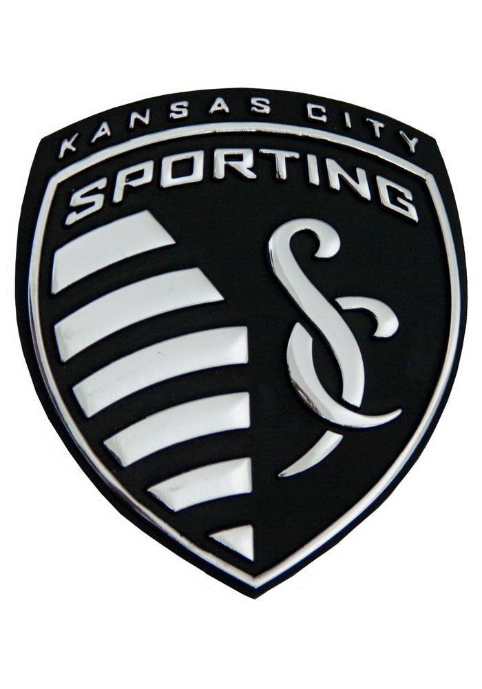 Sporting Kansas City Chrome Car Emblem Silver 16370087