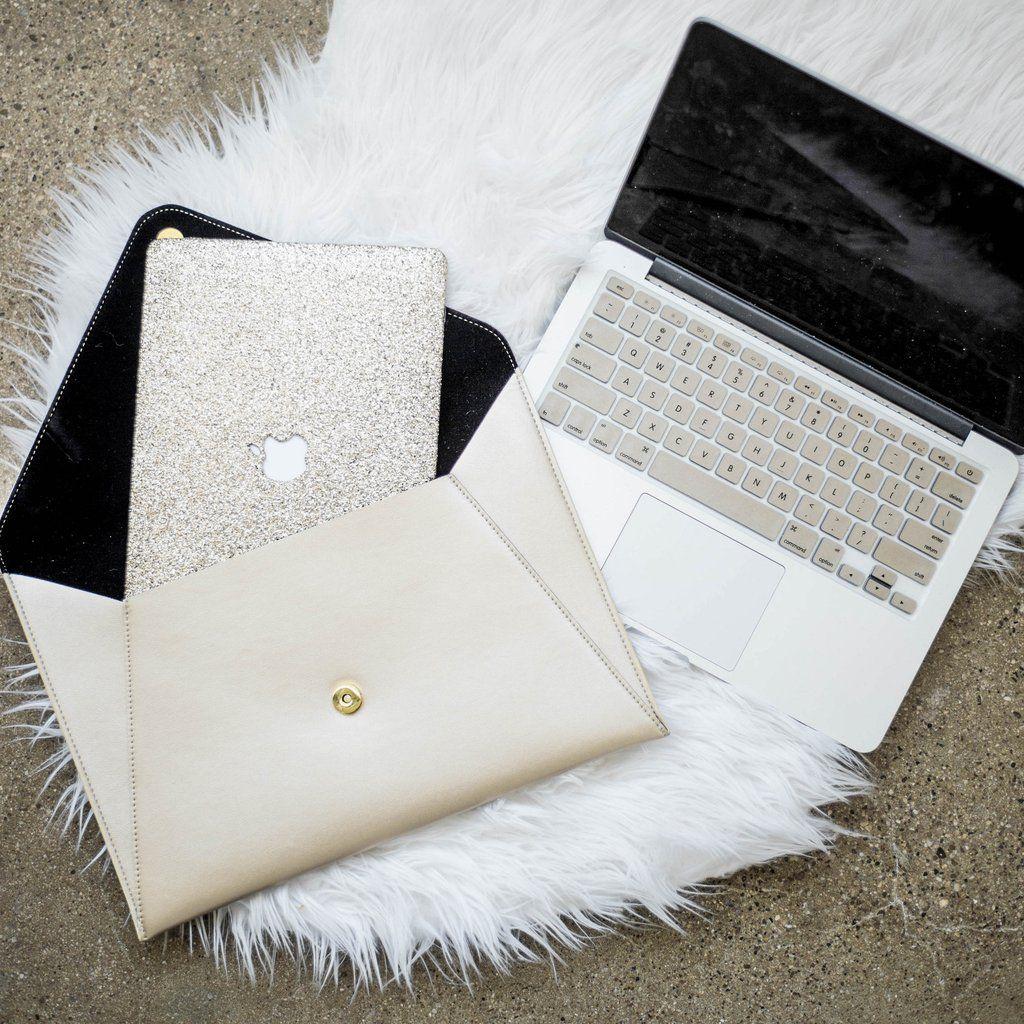 Champagne Gold Macbook Bundle Embrishop Pink Macbook Case Pink Macbook Macbook Case