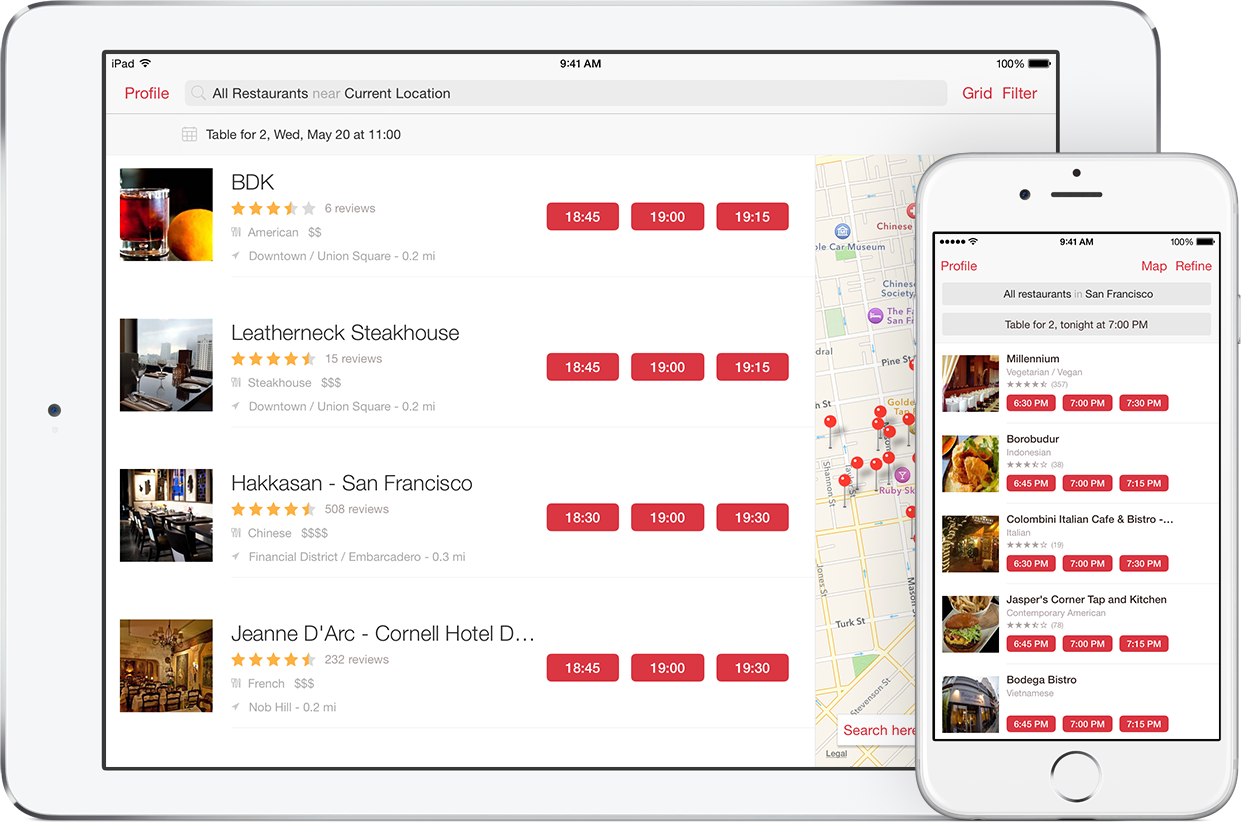 With OpenTable\'s free apps, you can discover, reserve, and manage ...