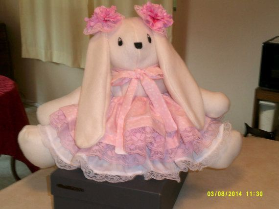This beautiful Baby Babs Bunny is completely by cleancritters, $35.00
