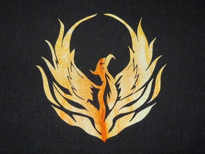 (7) Name: 'Quilting : Phoenix Rising 2 Applique