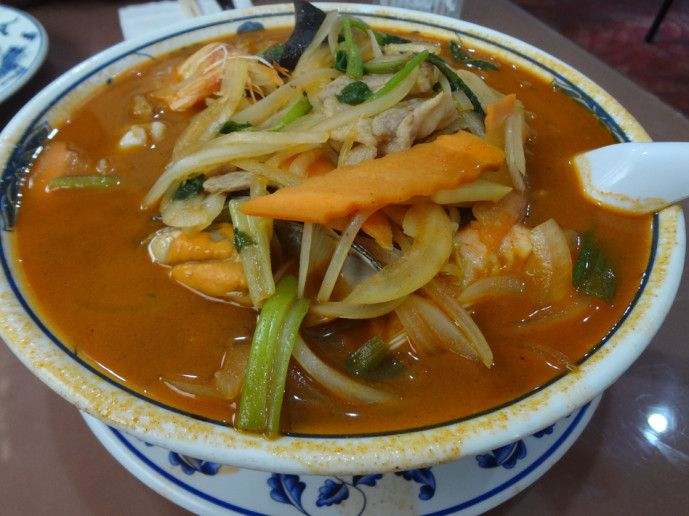 San Shan Noodle Soup From Yen Jing On Buford Highway 5 95