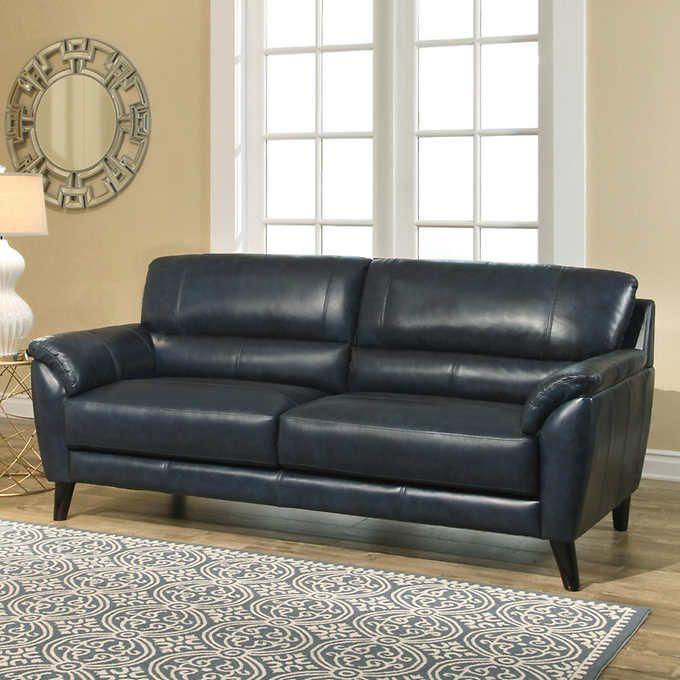 Sovana Top Grain Leather Sofa