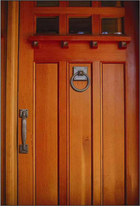 Rustic Mission Entry Door With Images Craftsman Style Exterior