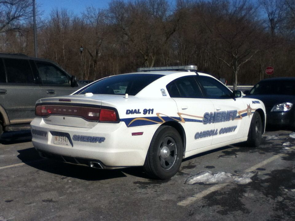 Carroll county sheriff maryland dodge charger patrol car