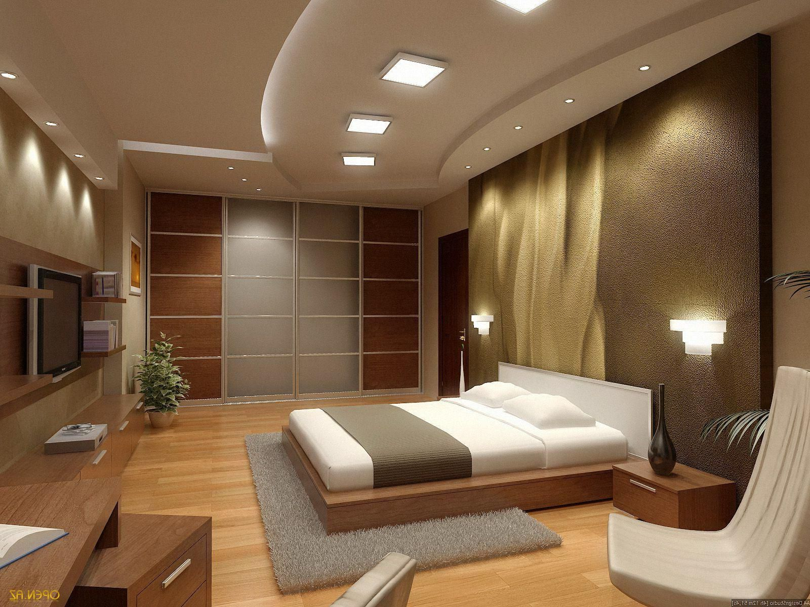 Simple Decorating For Bedrooms Brown Theme Bedroom For Men With Wooden Shelves And Modern