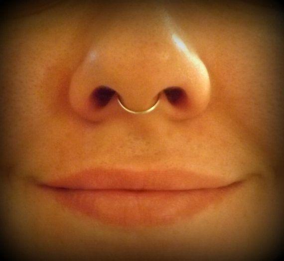 2 Fake Septum Rings Sterling Silver By Twistedmastery On Etsy Sterling Silver Rings Septum Ring Nose Ring Stud