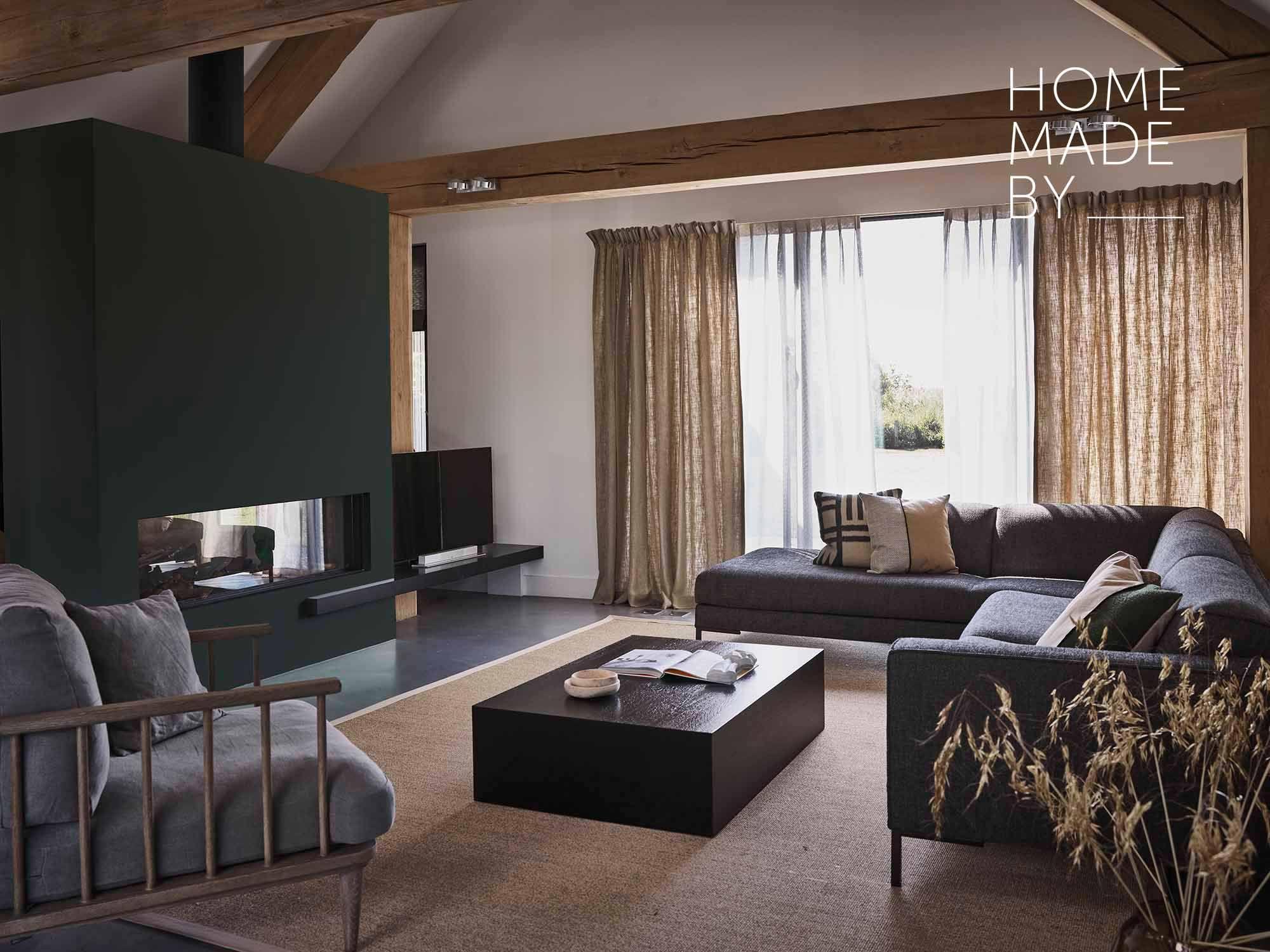 Home Story Barn Woonkamer Thuisdecoratie Gordijnen Wonen