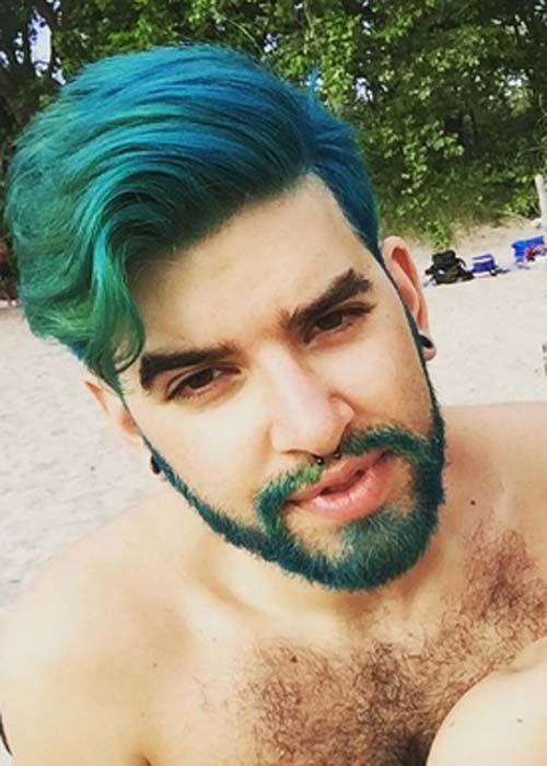 Estilos De Trenzas Para Hombres Fotos Buscar Con Google Dyed Hair Men Green Hair Men Hair Color