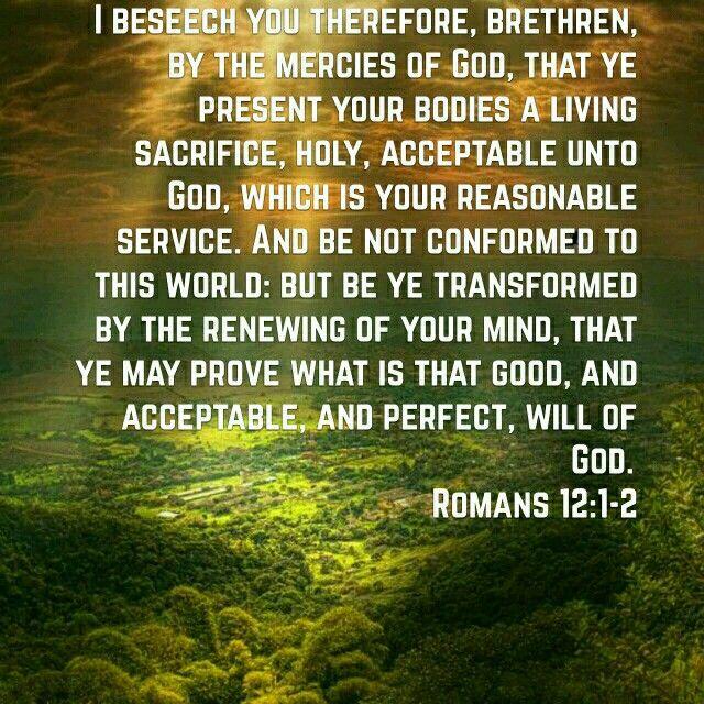 Image result for Romans 12:2 kjv