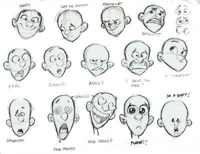 Desenho Cartoon Expression Character Design Drawing Cartoon Characters
