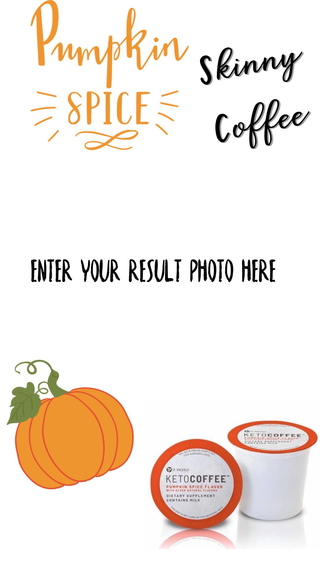 Pumpkin Spice Latte - It Works Keto Coffee  #pumpkinspiceketocoffee #pumpkinspiceketocoffee