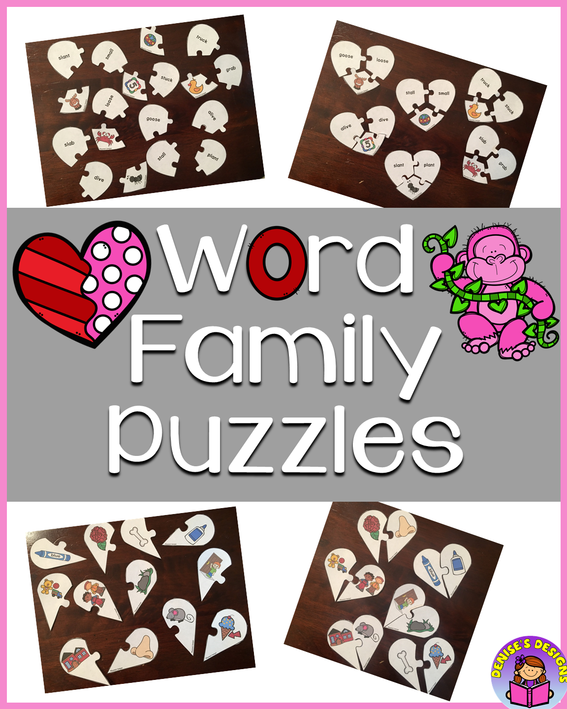Rhyming Puzzles Valentines Day