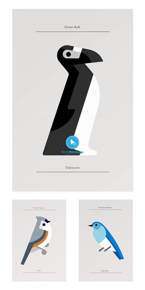 40 designs d u0026 39 animaux minimalistes