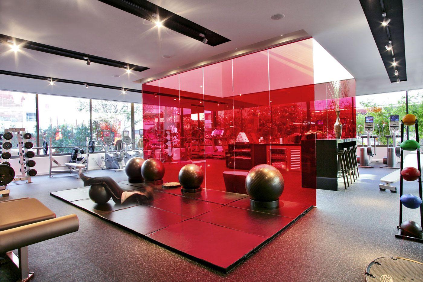 Gallery lespa la by sofitel in 2019 gym interior for Hotel club decor