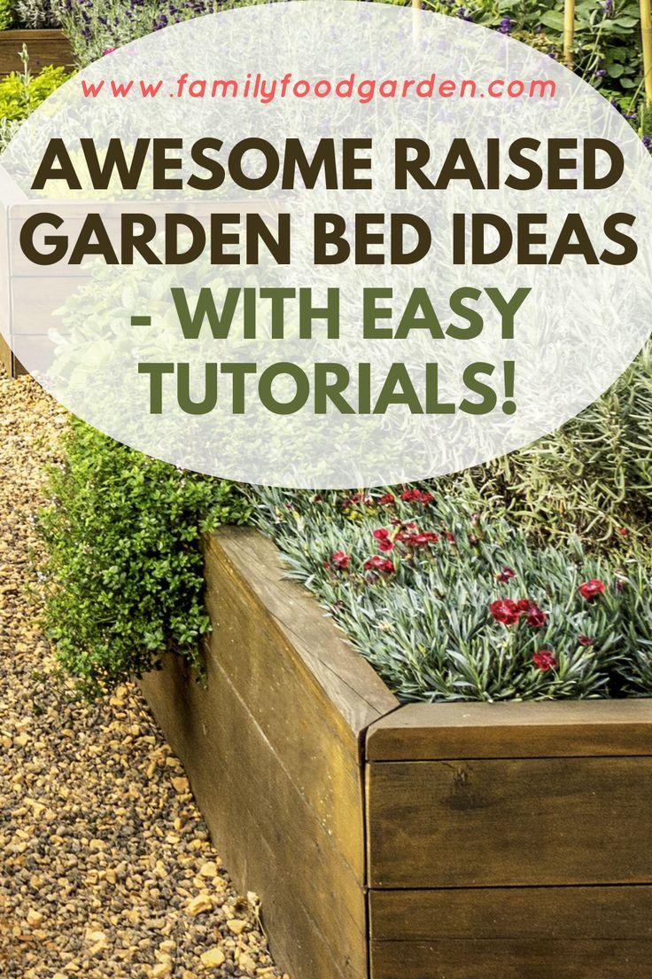 Photo of Raised Garden Bed Ideas & Plans 2020