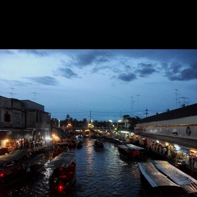 Ampawa floating market, Thailand /암파와 수상시장, 태국