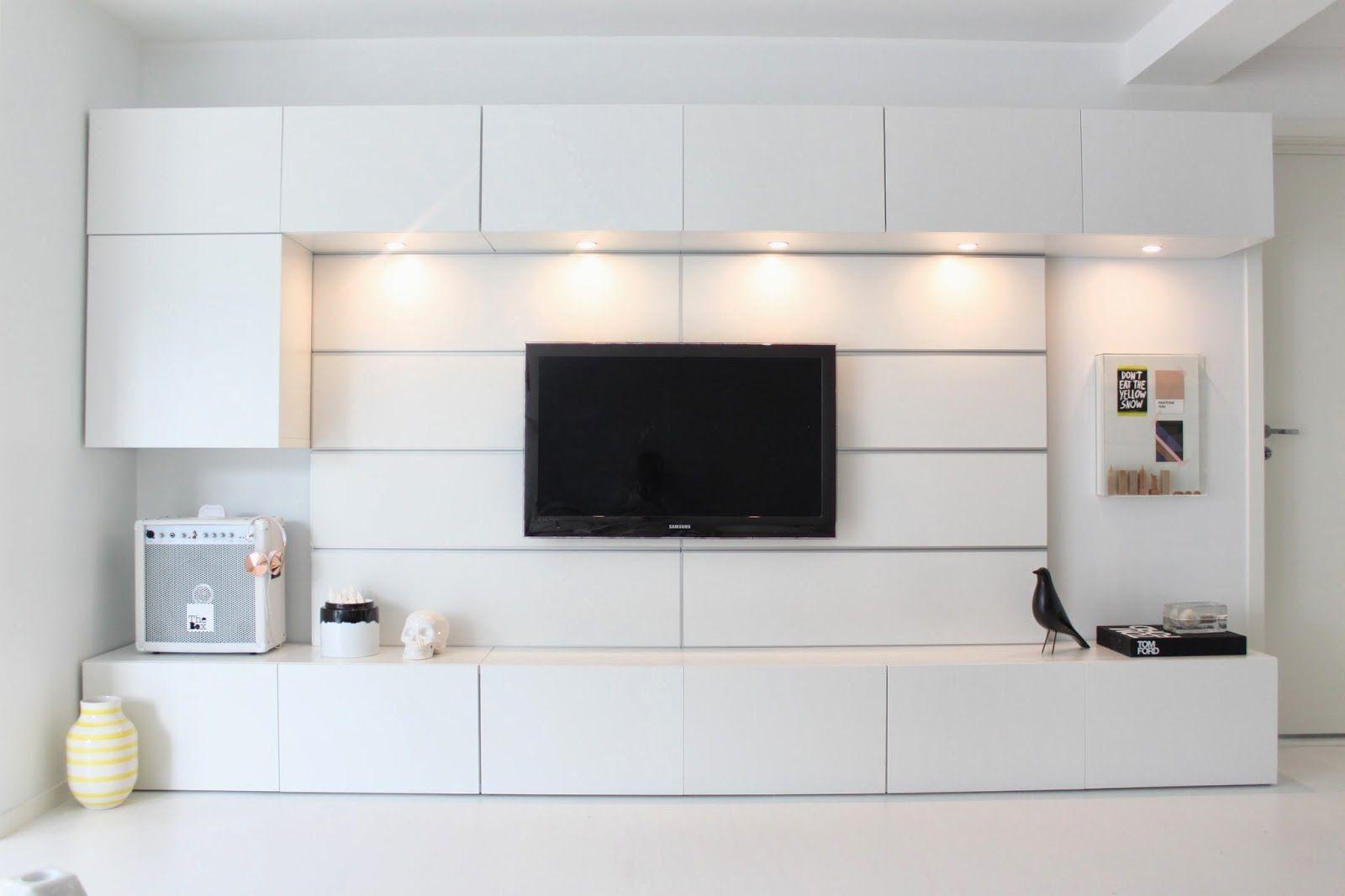 Villa H   Ikea living room, Ikea tv wall unit, Living room ...