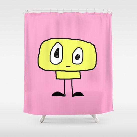 Rideau de douche, rideau de douche original, salle de bain