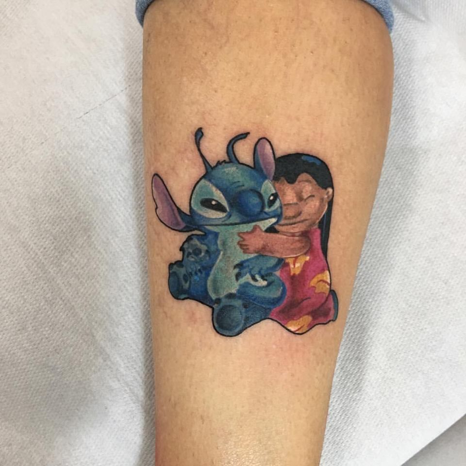 Cartoon tattoo designs on shoulder - Tattoo Pretty Disney Cartoon