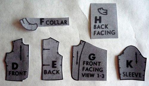 Sewaholic tutorial: Drafting a jacket lining
