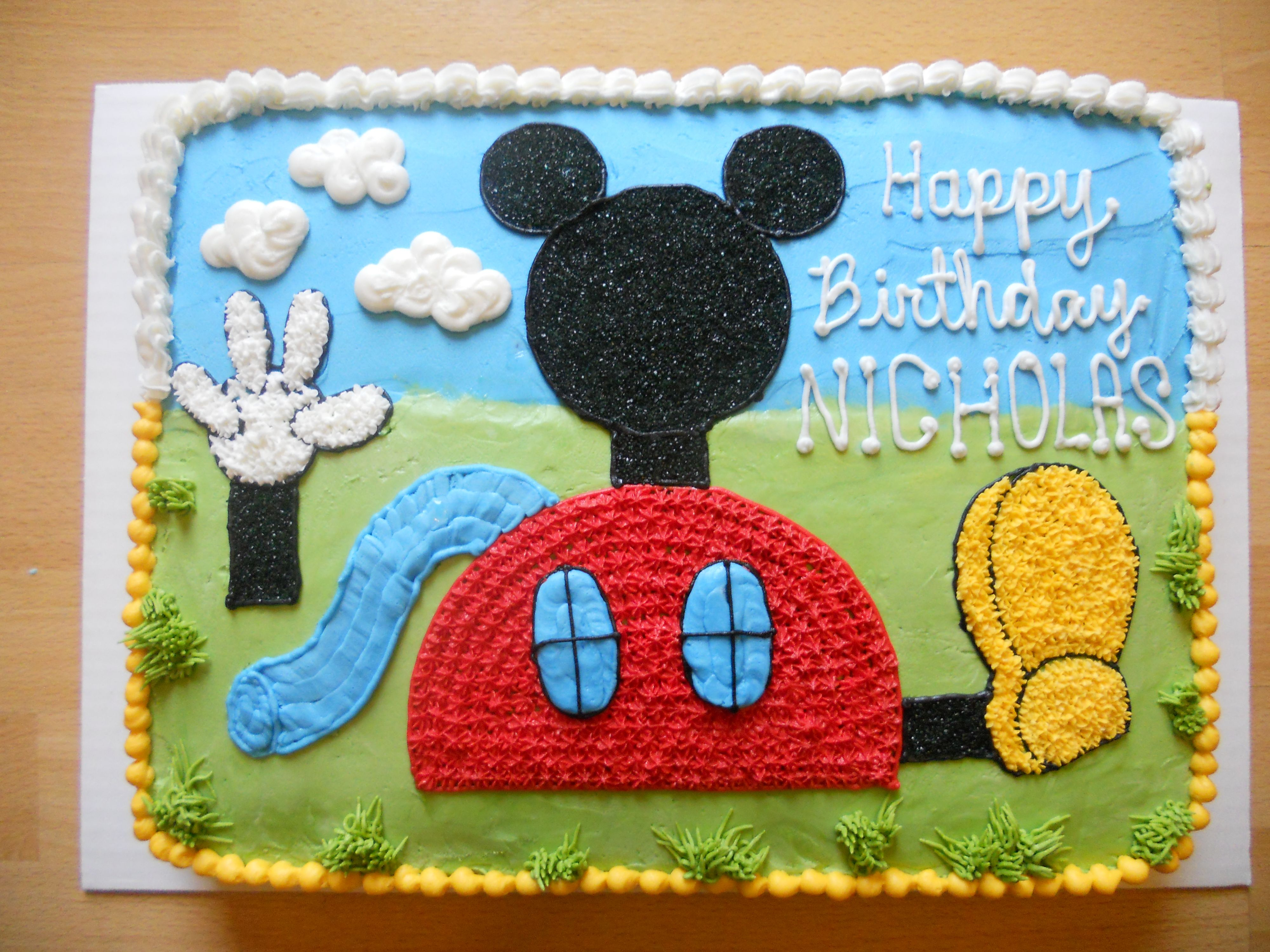 Affordable Cakes by Tiffany Mickey Mouse Club House Cakes