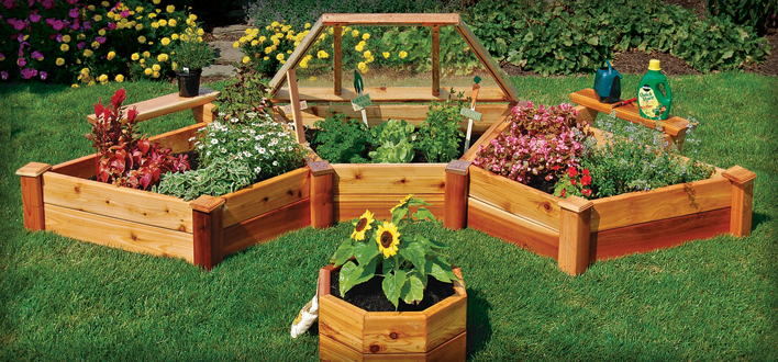 Information On How To Build Small Raised Garden Beds    Really Just Planter  Boxes Without