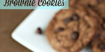 double chocolate brownie cookies recipe