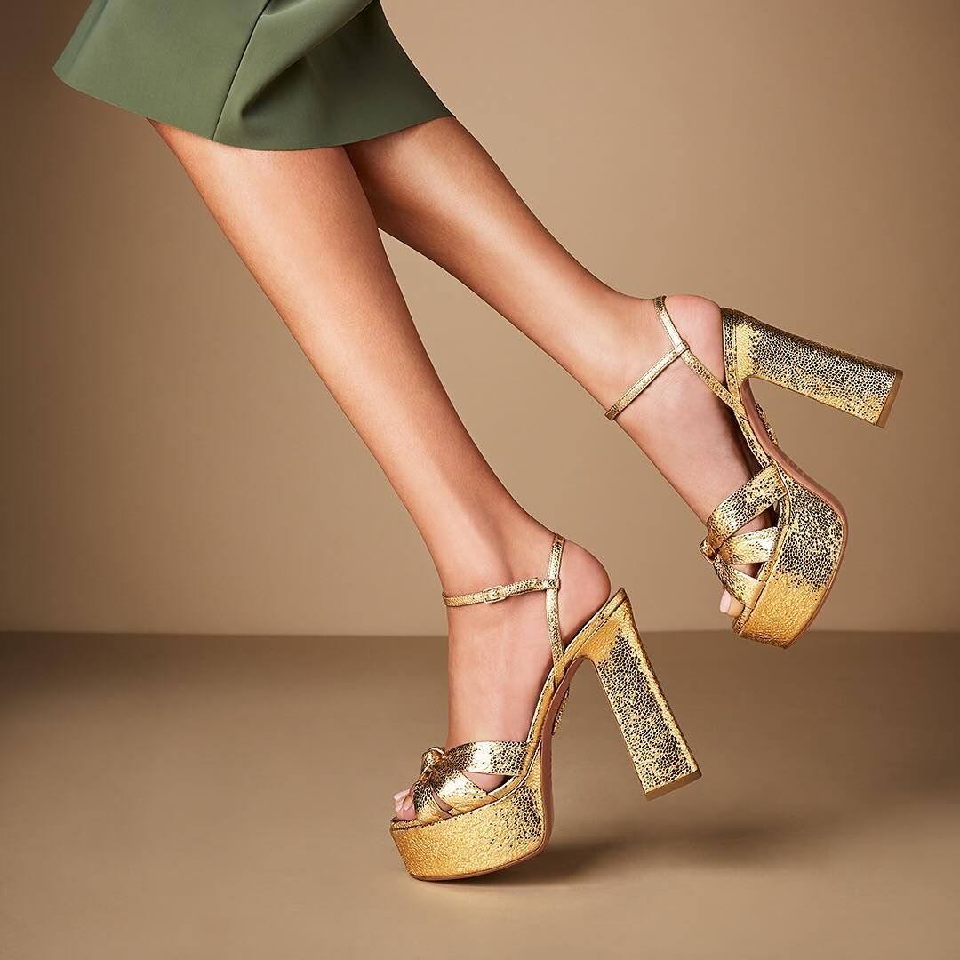 new high reasonable price online for sale You'll be a showstopper in our 'Baba Plateau Sandal ...