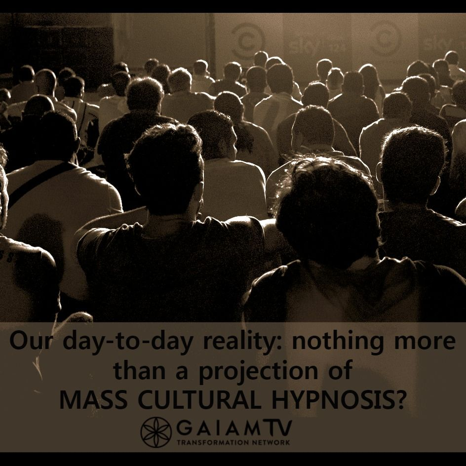How can we #awaken from our day-to-day reality's #illusion, created by mass #hypnosis?