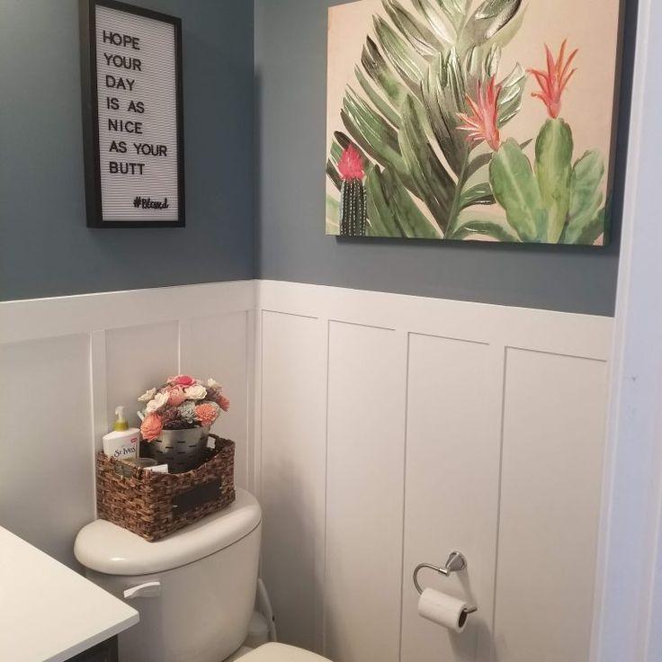 Photo of DIY Board  Batten Bathroom Update