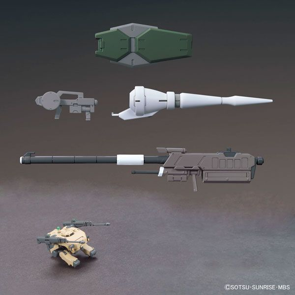 AmiAmi [Character & Hobby Shop]   HG 1/144 MS Option Set 1 & CGS Mobile Worker Plastic Model(Released)