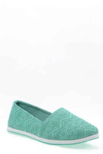 Amazon.com: Qupid Pam-03A Crochet Slip on Loafer Flat Shoes MINT: Shoes $15