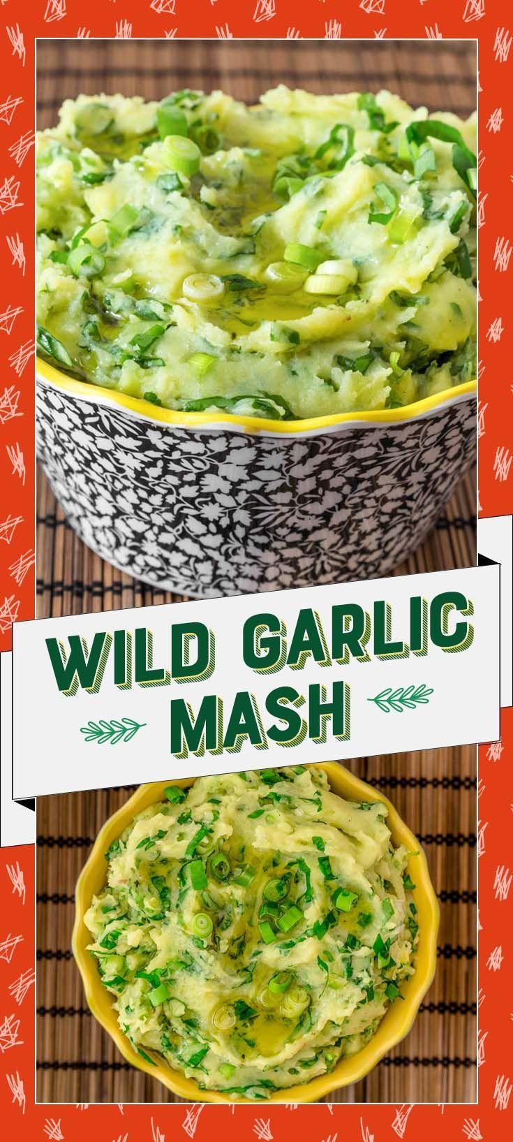 Wild Garlic Mash