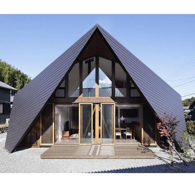 Look At This House Is This Home Remind You Of The Japanese Paper Folding Art Origami Origami Origamihouse Rumahorig Architecture Architecture House House