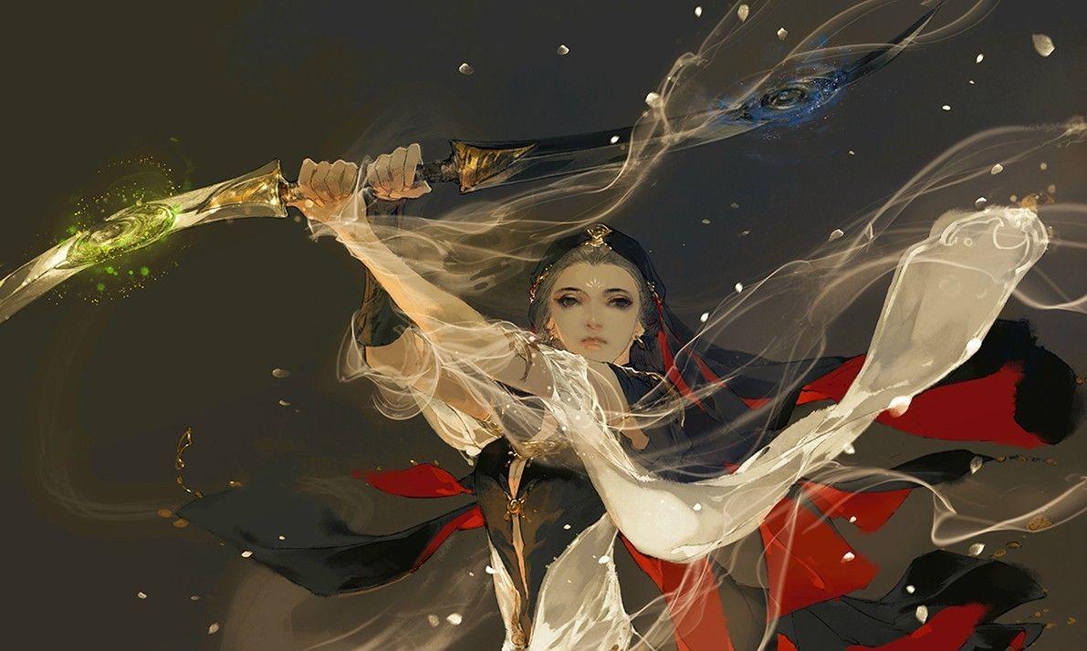 Tranh của Y Xuy Ngũ Nguyệt Anime, Hình ảnh, Nghệ thuật