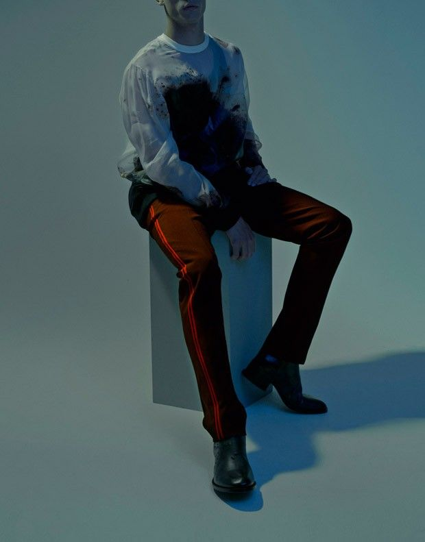 Nate Hill for VMAN by Bryan Huynh