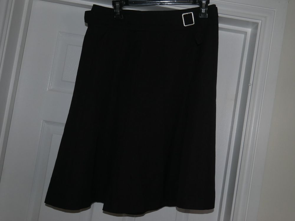 b7462e9a8c Black H&M Skirt size 10 Belt included #fashion #clothing #shoes  #accessories #womensclothing #skirts (ebay link)