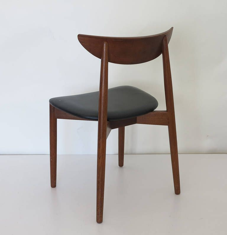 Set Of Four (4) Dining Chairs By Harry Ostergaard For Randers